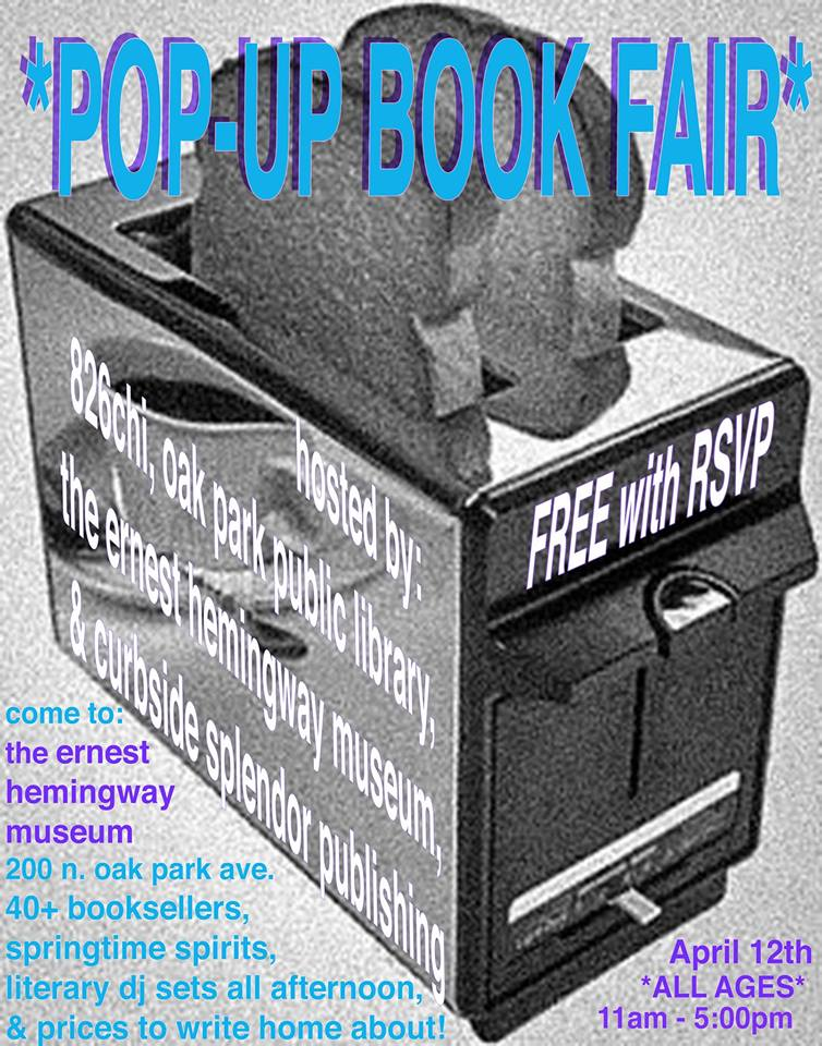 pop up book fair oak park